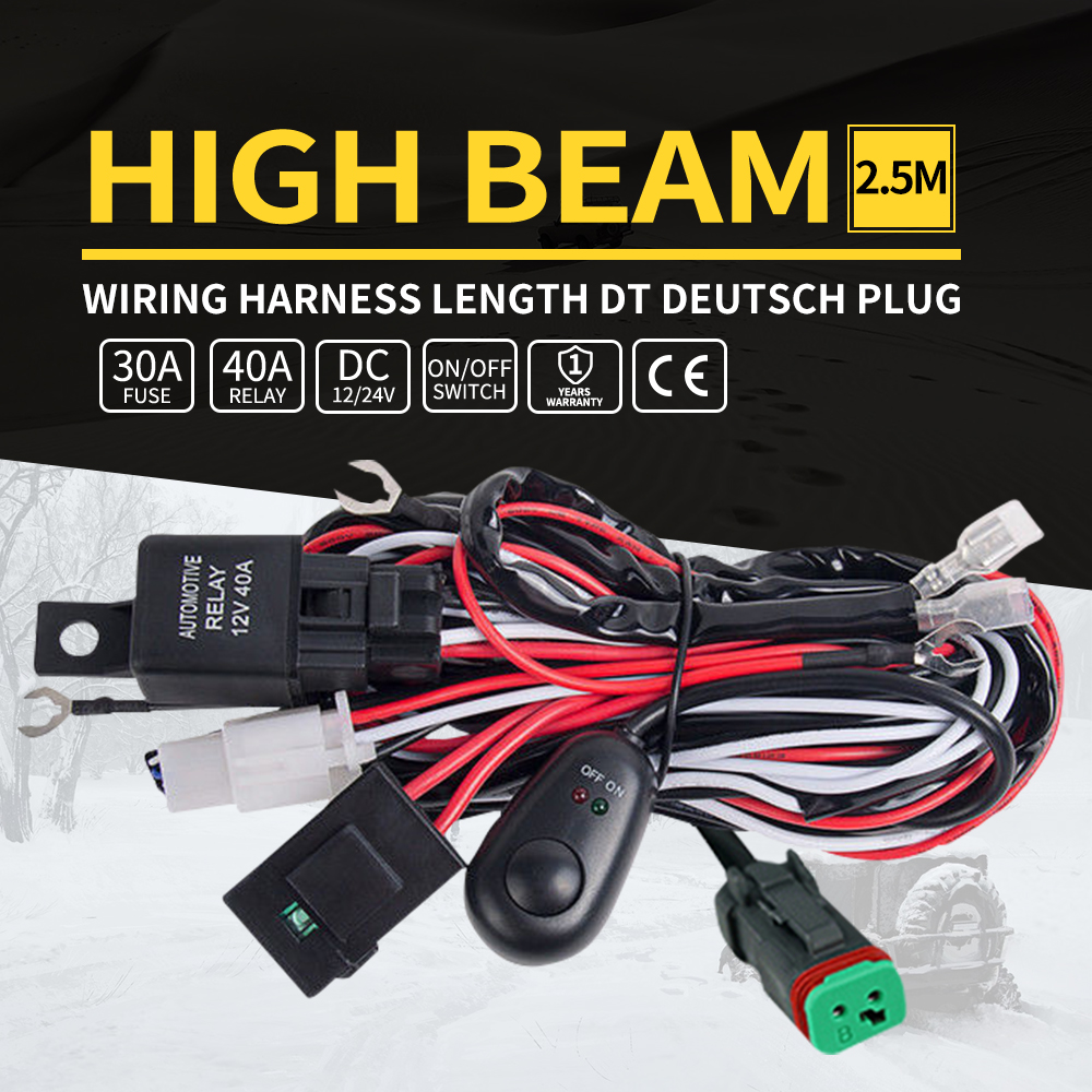 Led Wiring Loom Solutions Arb Intensity Light Kit Arb3500520 Hid Harness Spot Work Driving Bar 12v 40a