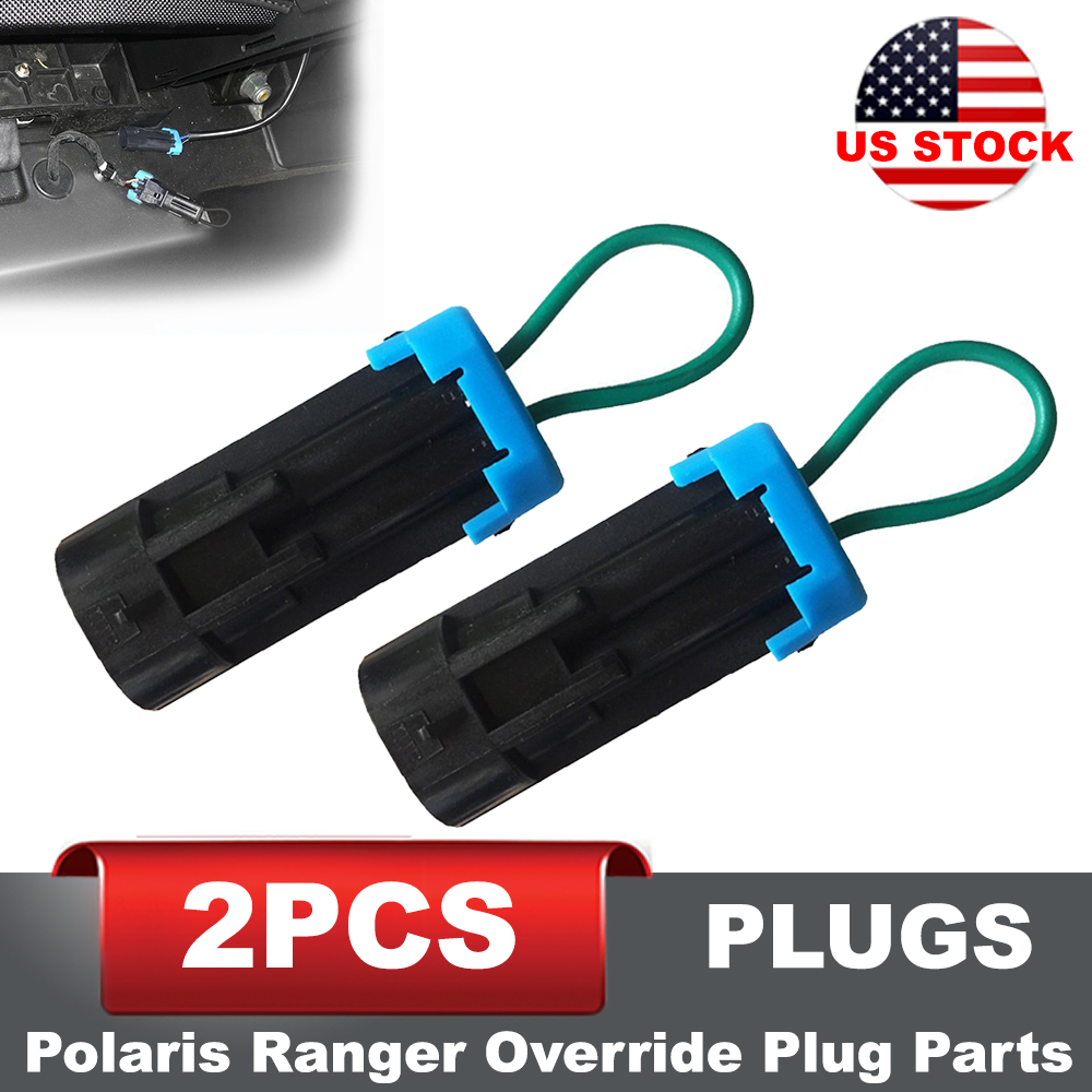 Details About Seat Belt Harness Override Clip Byp Plug For Can Am Polaris Ranger Rzr X3