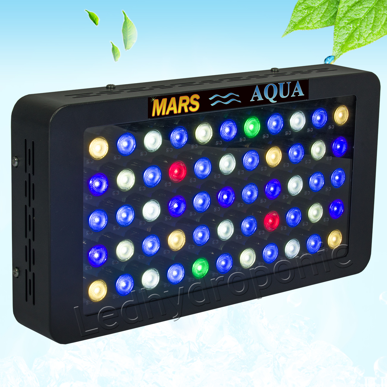 Marsaqua 165w Led Aquarium Light Dimmable Full Spectrum Reef Coral Sps Lps Tank