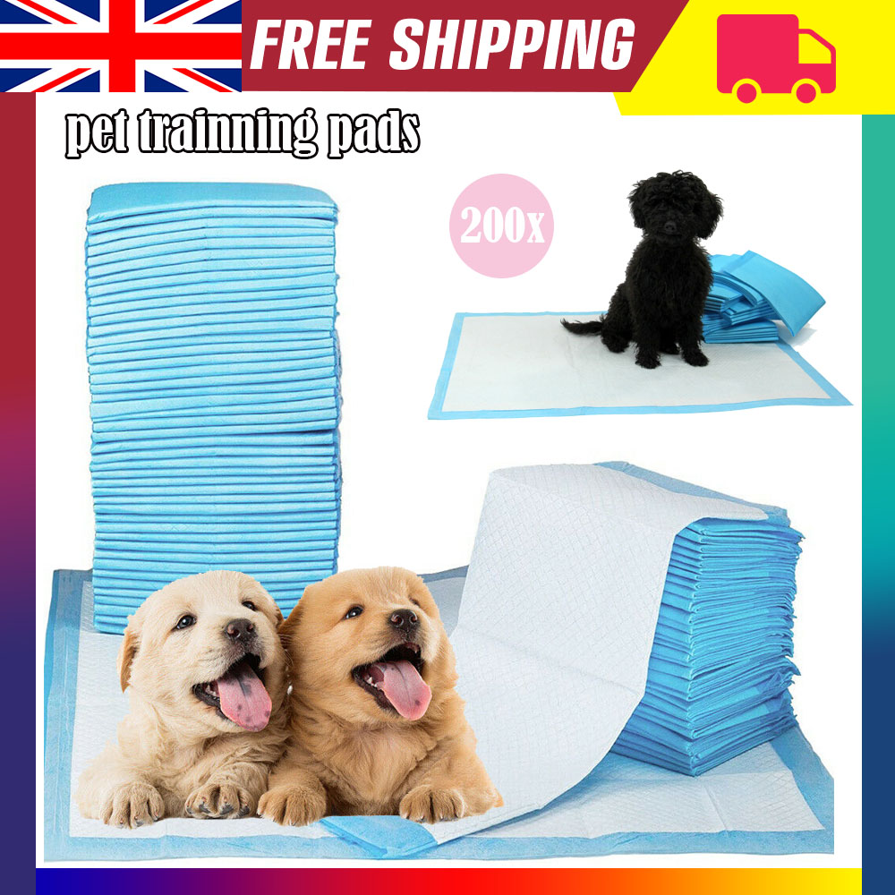 200 XL Puppy Pads Dog Pet Toilet House Training 60x45cm Wee Potty Pee Mats  Cat | eBay