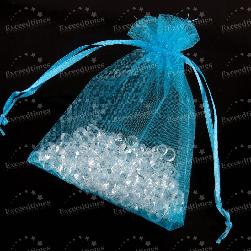 50-100-ORGANZA-GIFT-BAG-Candy-Sheer-Jewellery-Pouch-Wedding-Birthday-Party-Decor