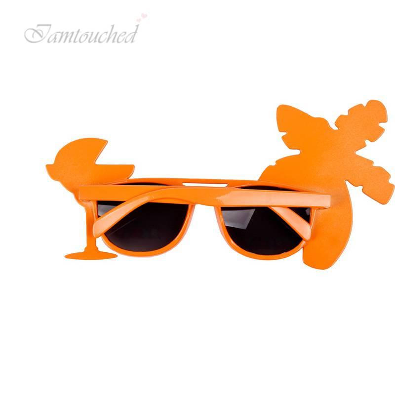 Hawaiian Sunglasses Glasses Beach Luau Party Fancy Costume Dress Hen Party Decor