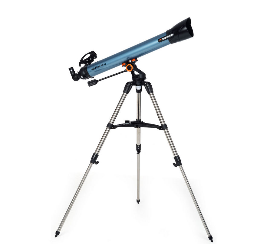 Celestron Inspire 80AZ Refractor Astronomical Telescope With Tripod 22402
