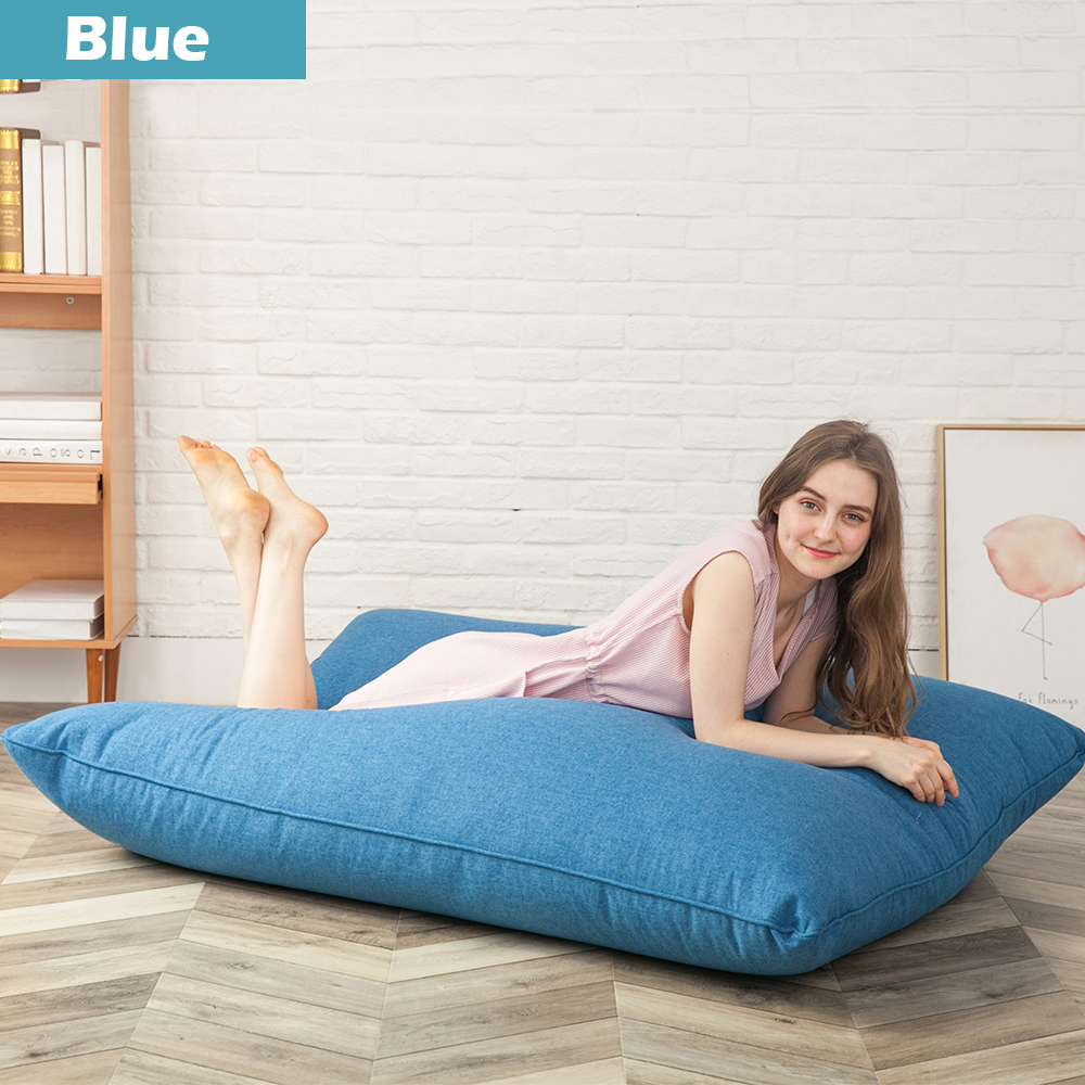 Large Single Bean Bag Chairs Bed For Adults Kids Couch