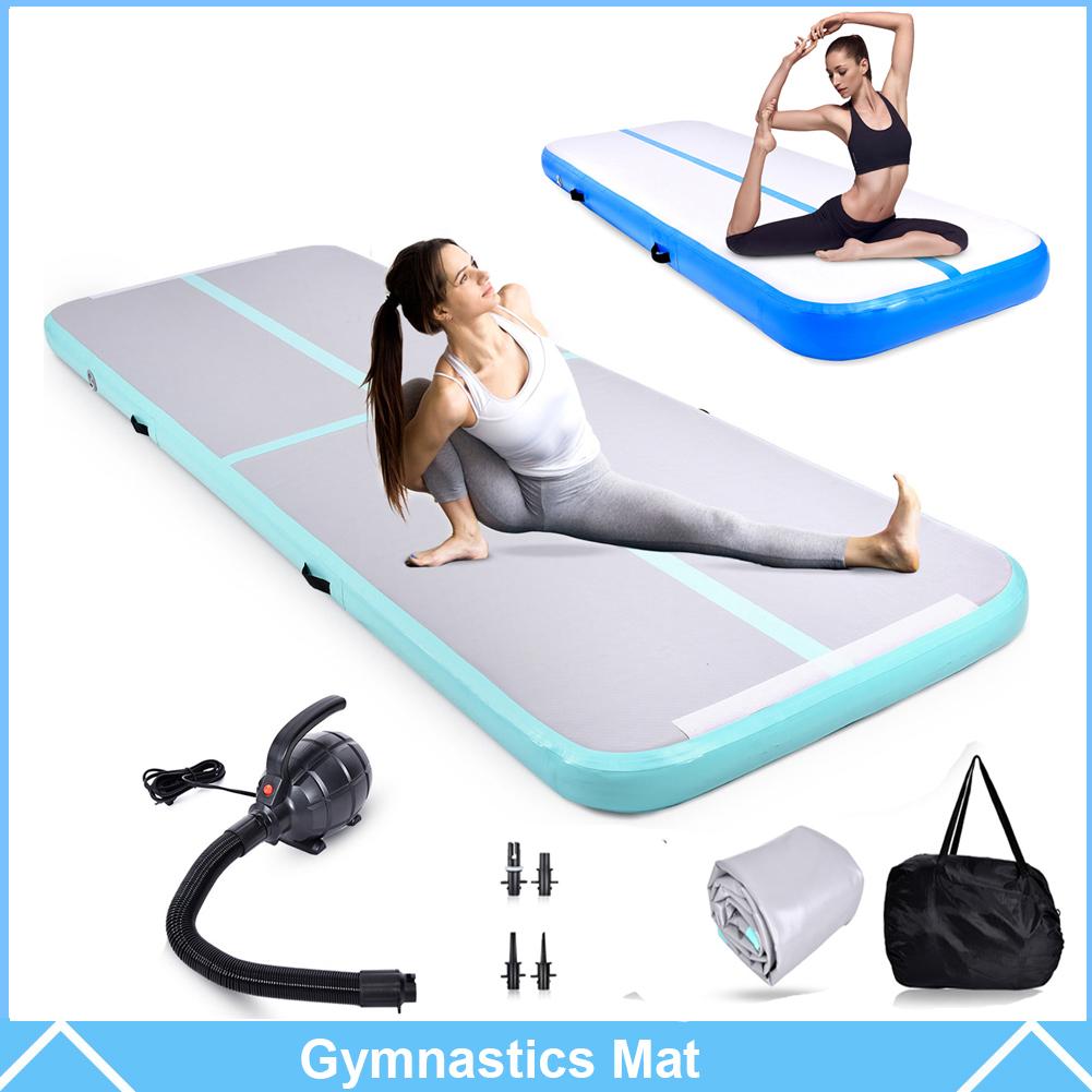 Pump 0.2M Airtrack Inflatable Air Track Floor Home Gymnastics Tumbling Mat GYM