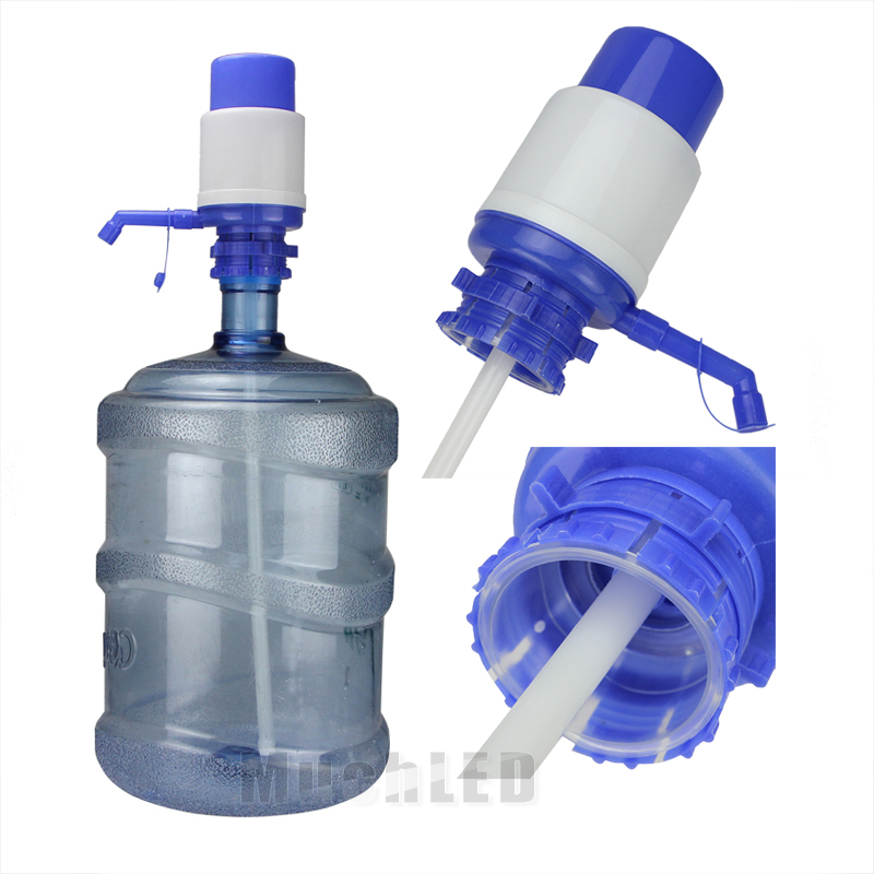 Details About 5 6 Gallon Hand Pump For Water Bottle Jug Manual Drinking Tap Spigot Camping