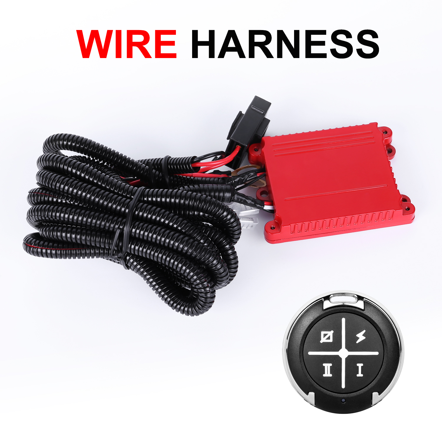 Autofeel Wiring Harness Kit Led Light Bar Remote Switch Freely Relay Hid Driving 40a 12v Ebay Dual Color