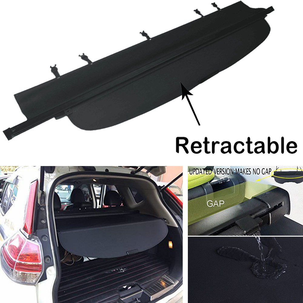 Cargo Cover For 2014 Up Nissan Rogue or X-Trail Tonneau Anti-Theft Shield