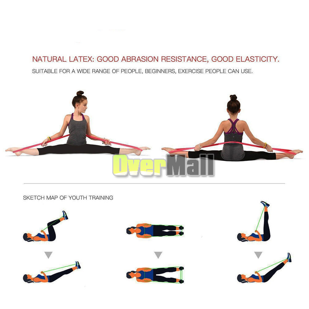 Resistance Bands Loop Pull Up Assist Exercise Yoga