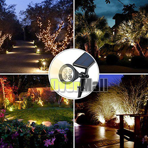 2 x 4 led garden landscape lamp solar spotlight outdoor wall light 2 x 4 led garden landscape lamp solar spotlight outdoor wall light warm white us workwithnaturefo