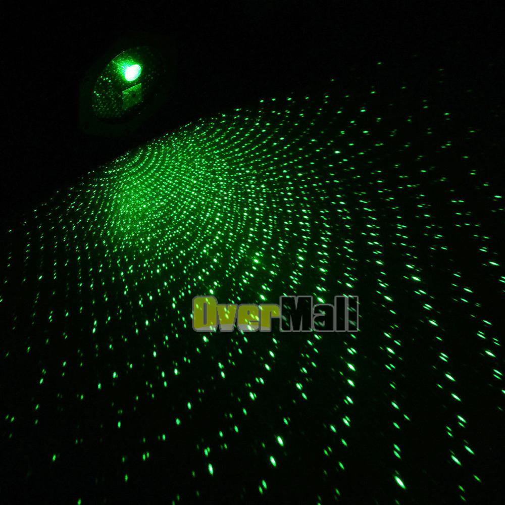 Solar Power Led Laser Projector Light Stars Flash Garden