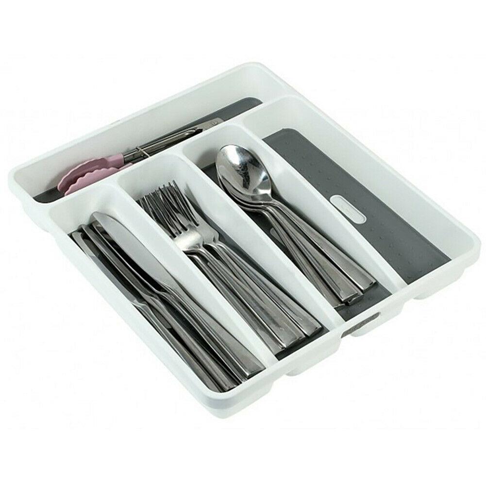 Cutlery Drawer Organiser Kitchen Utensil Holder Knife Fork Spoon