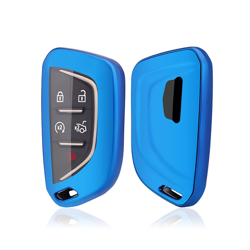 5 Buttons TPU Remote Protective Key Cover Case Holder For