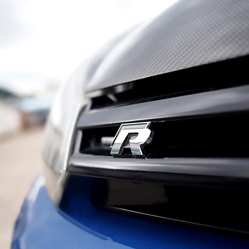 R line Sticker Emblem R Line Wing Grill Badge UK seller