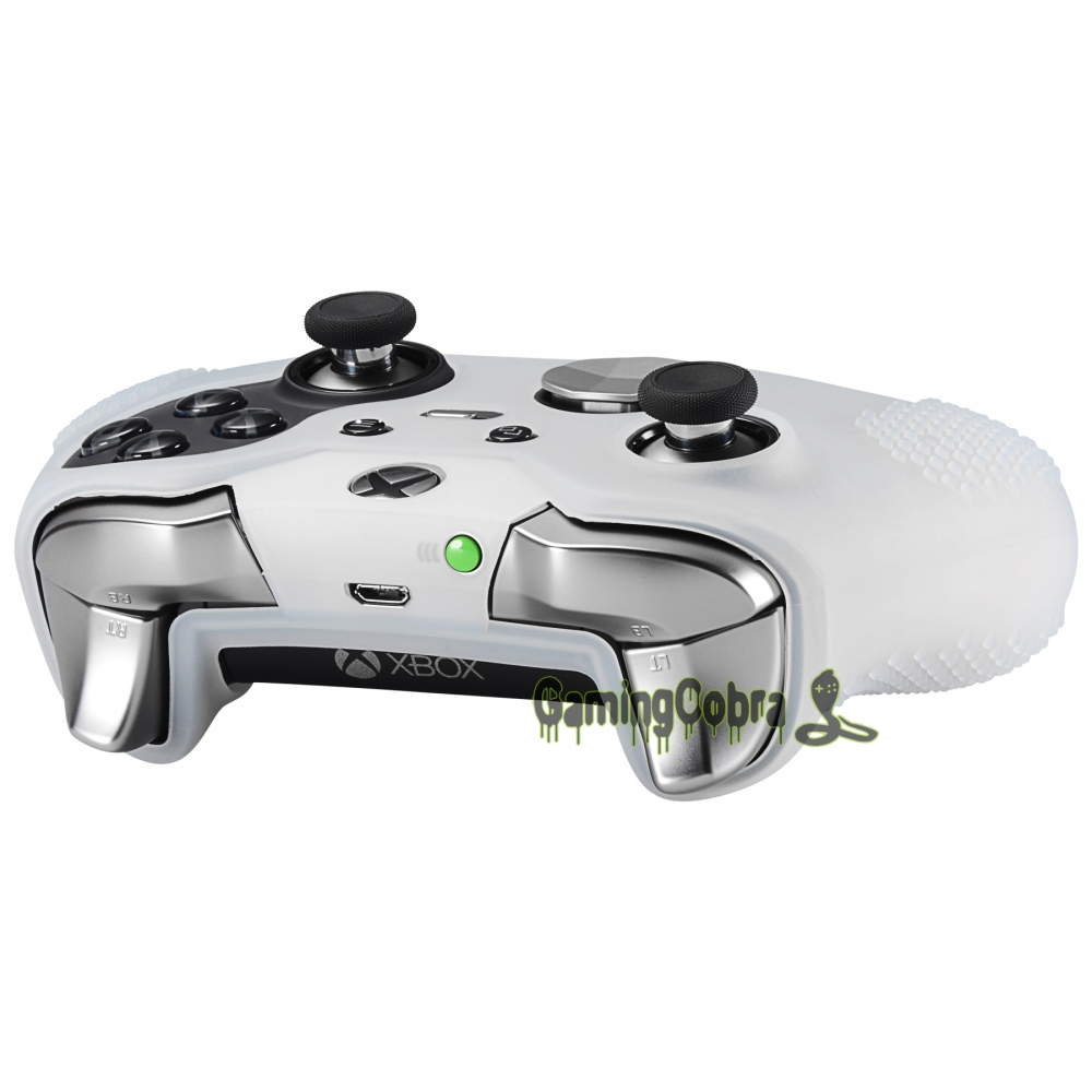 Semi Transparent Clear Rubber Gel Skin Thumb Grip For Xbox