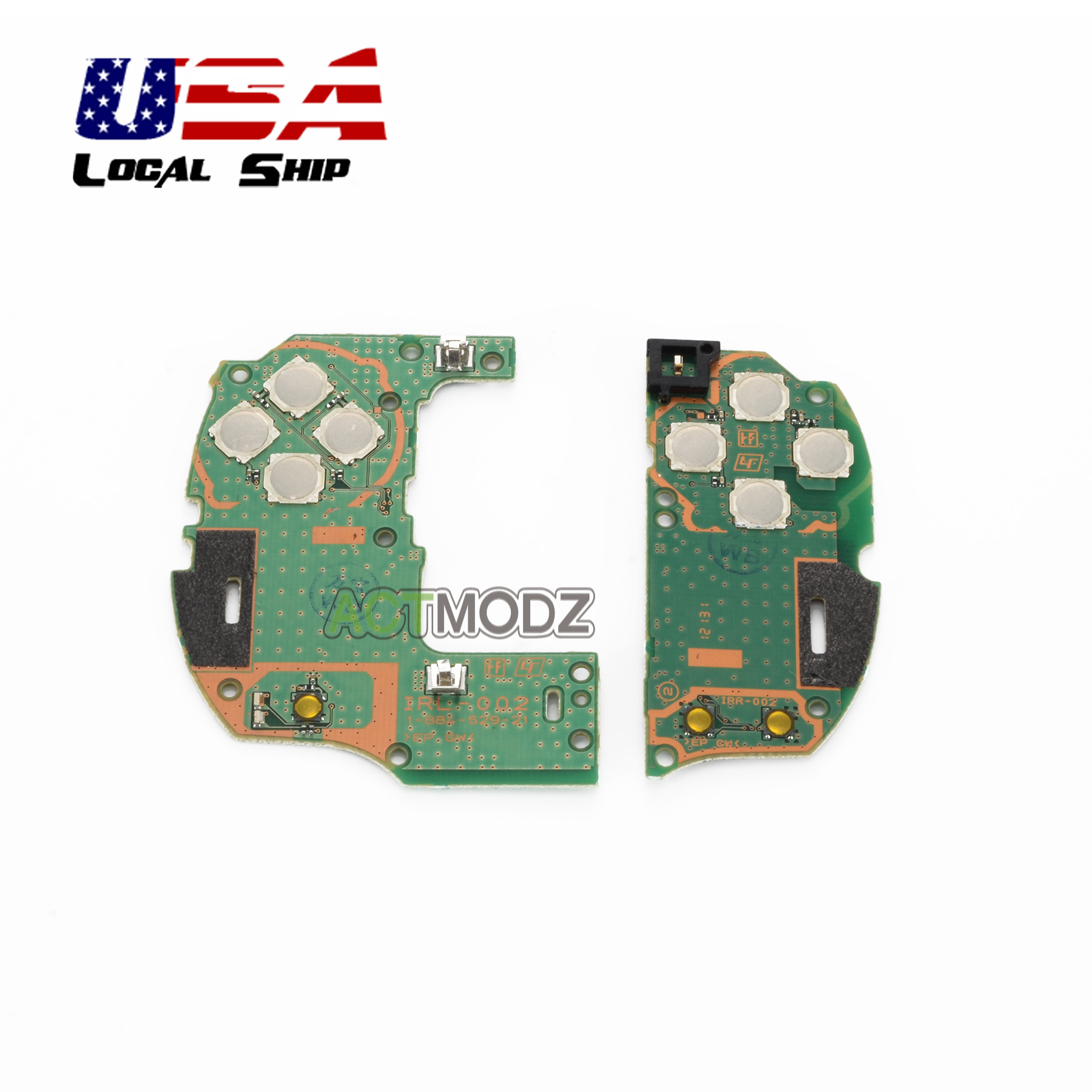 repair part left right host of button circuit board for psvita 1000image is loading repair part left right host of button circuit