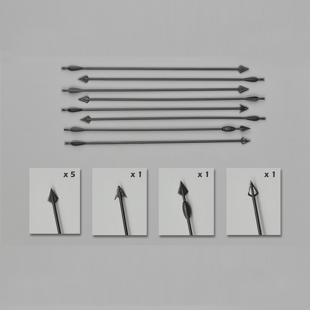 "ZYTOYS 1//6 Scale Composite Bow /& Arrows Set Model Fit for 12/"" Action Figure"
