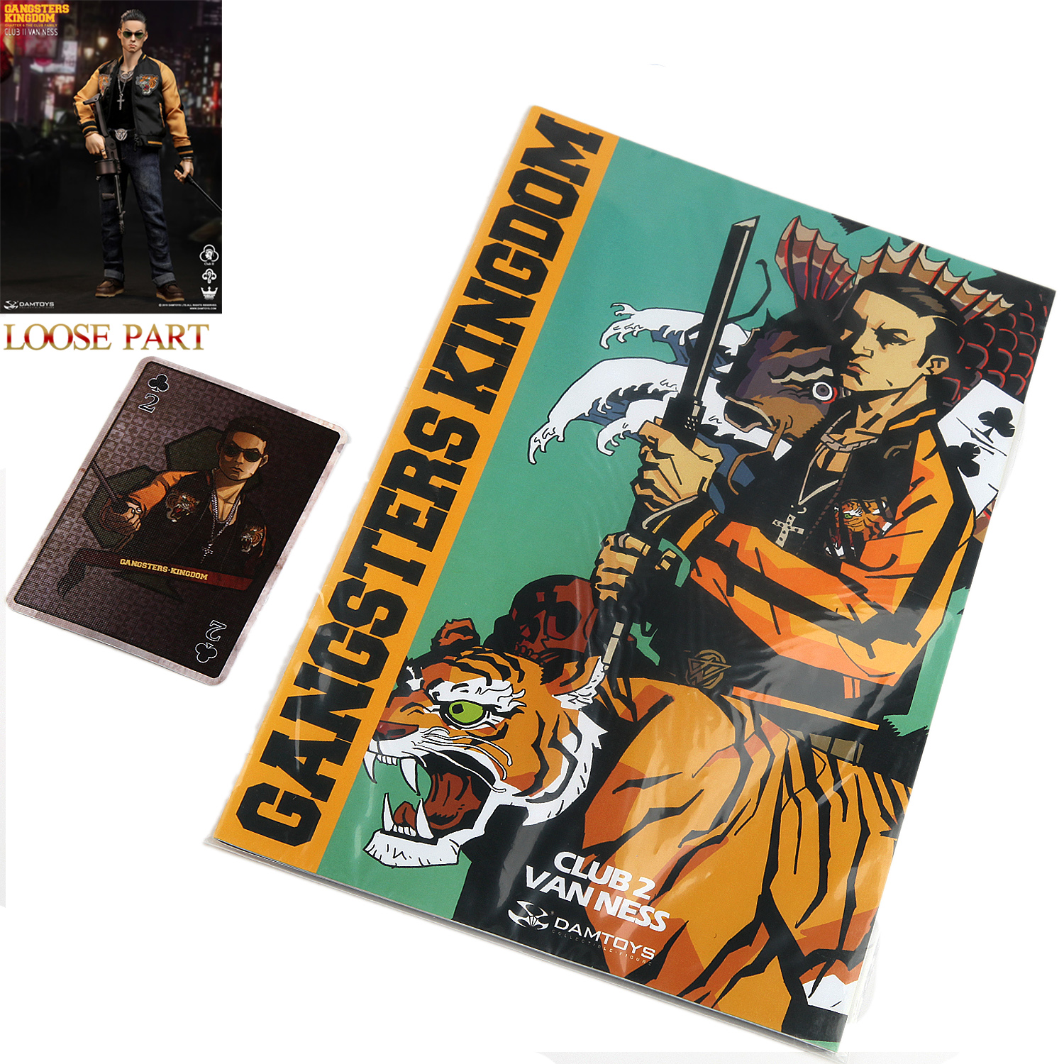 In Stock DAMTOYS 1//6 Gangsters Kingdom Club 2 Van Ness Action Figure New