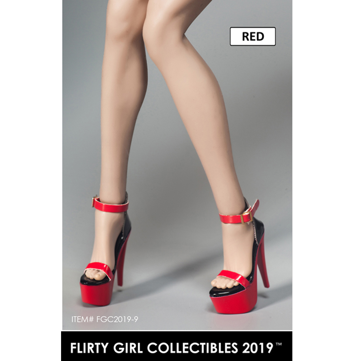 Flirty Girl Collectibles FGC2019 1//6 Scale Female Shoes F 12/'/' Figure Body Toys