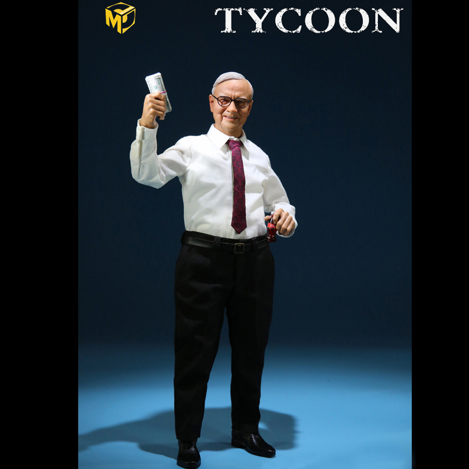 MCTOYS MCC022 1//6 Scale TYCOON Movable Collectible Action Figures Brand New
