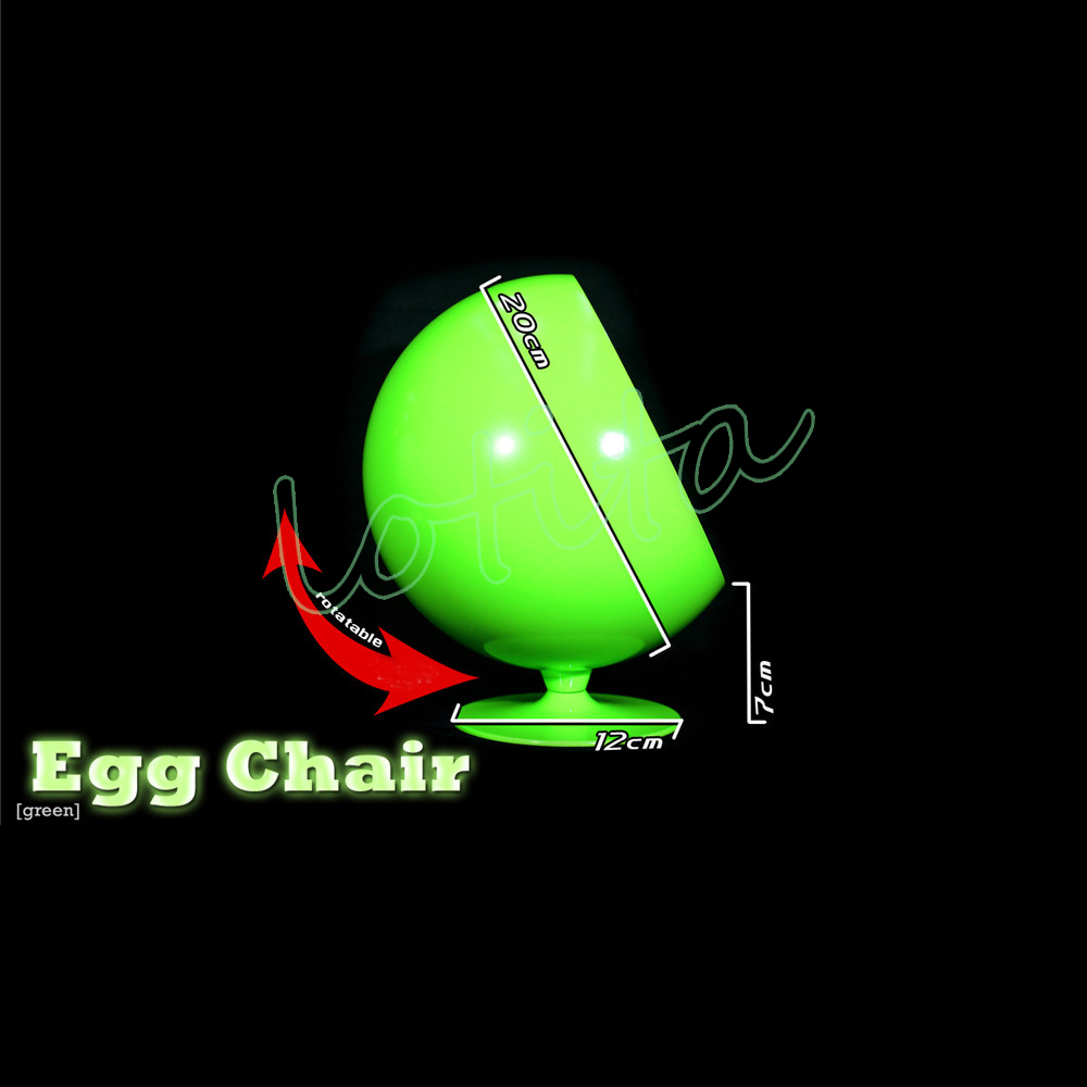"""ZY TOYS 1//6 Scale Red /& Black Egg Space Chair Sofa for 12/"""" Action Figure Body"""