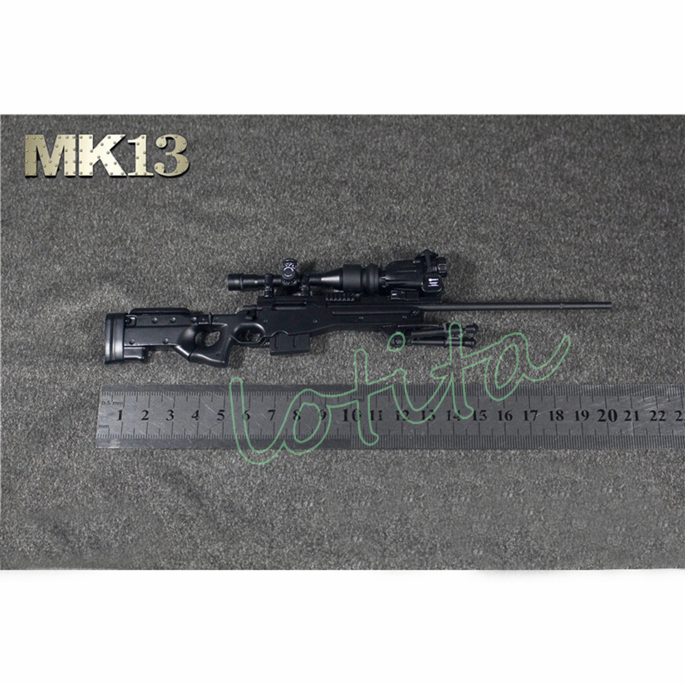 1/6 Scale MK13 Sniper Rifle (Black) - S.P.A.C.E - space