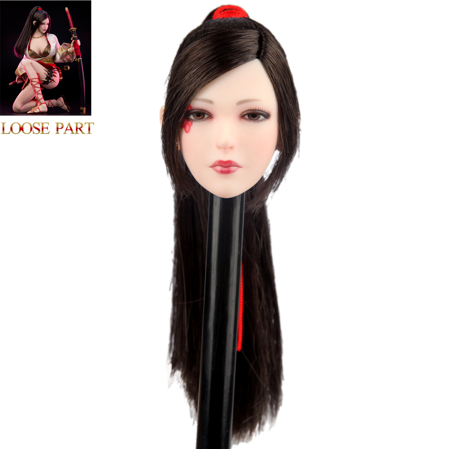 VERYCOOL VCF-2039 1//6 Ancient Japanese Heroine Series Nōhime Head Sculpt New