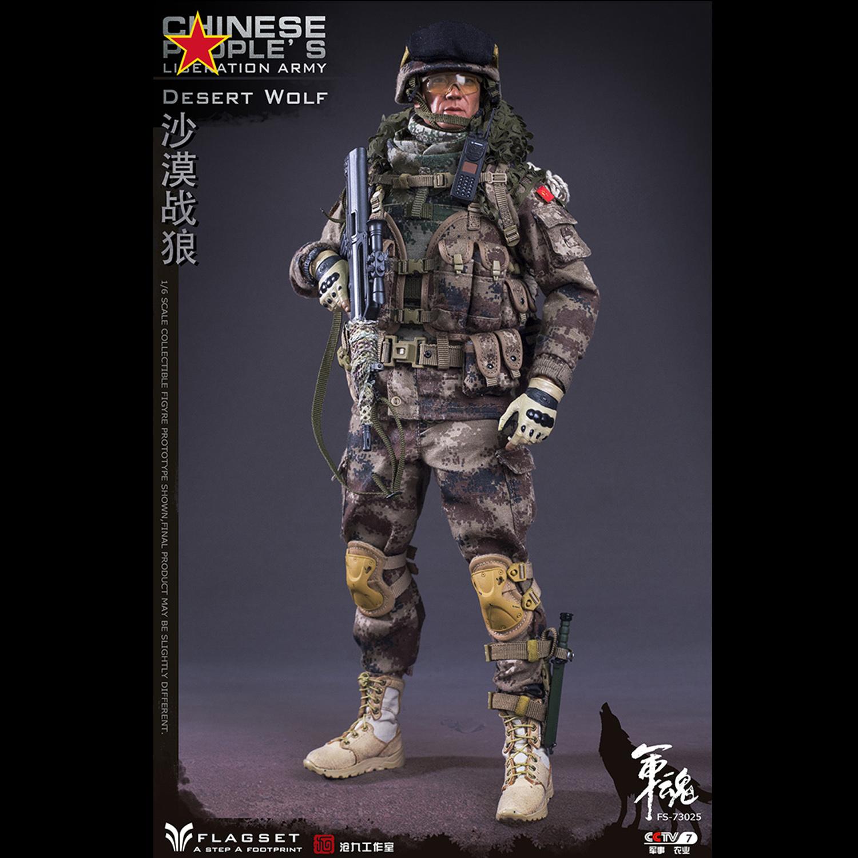 Pre-order 1//6 FLAGSET FS73025 DESERT WOLF Action Figure