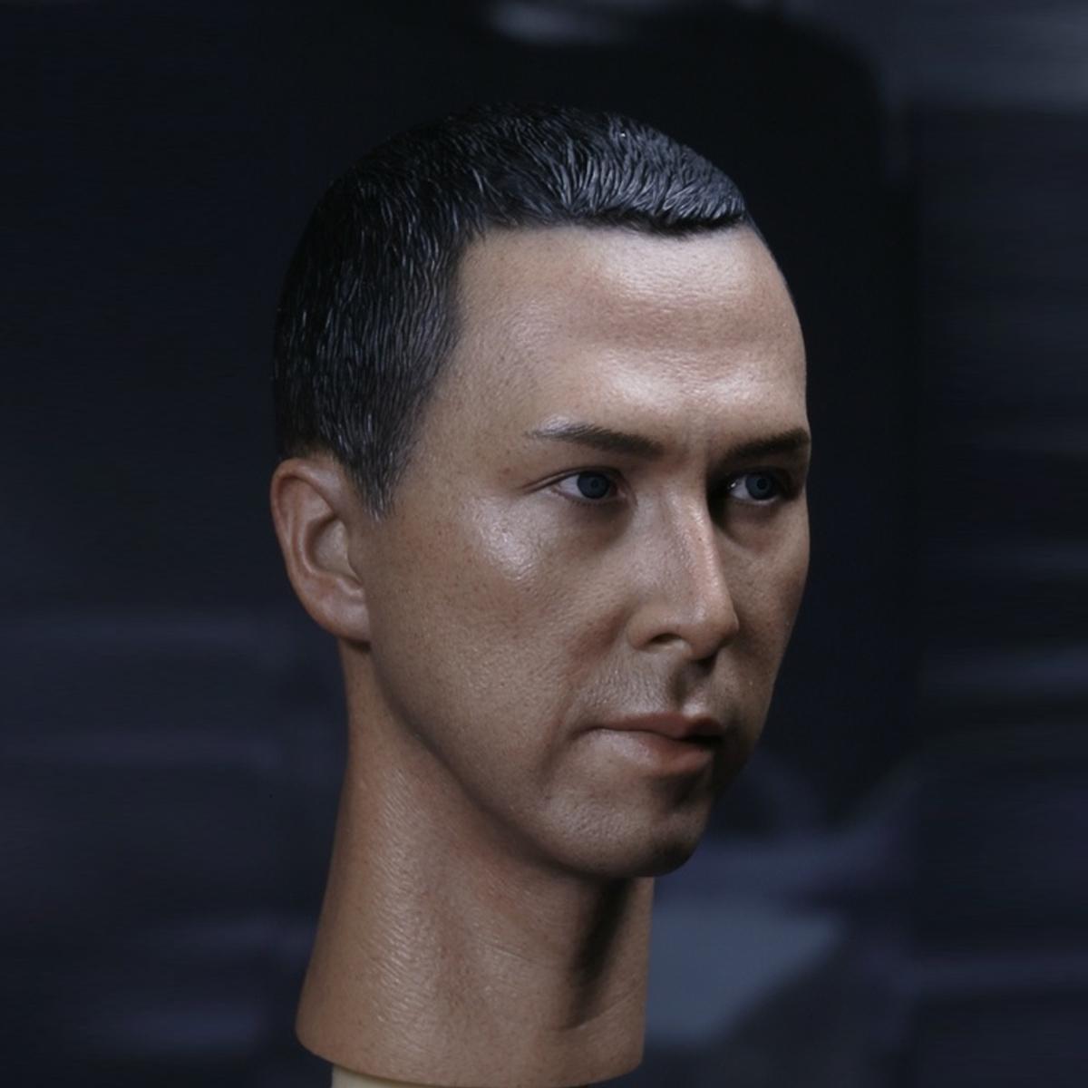 """1//6 Scale Donnie Yen Head Sculpt Ip Man for 12/"""" Action Figure"""
