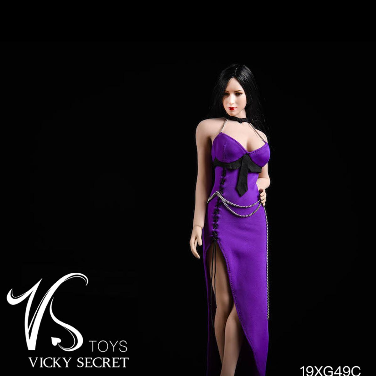 """VSTOYS 1//6 19XG60B Nun/'s Clothes Black Suit Fit 12/"""" Female PH TBL Action Figure"""