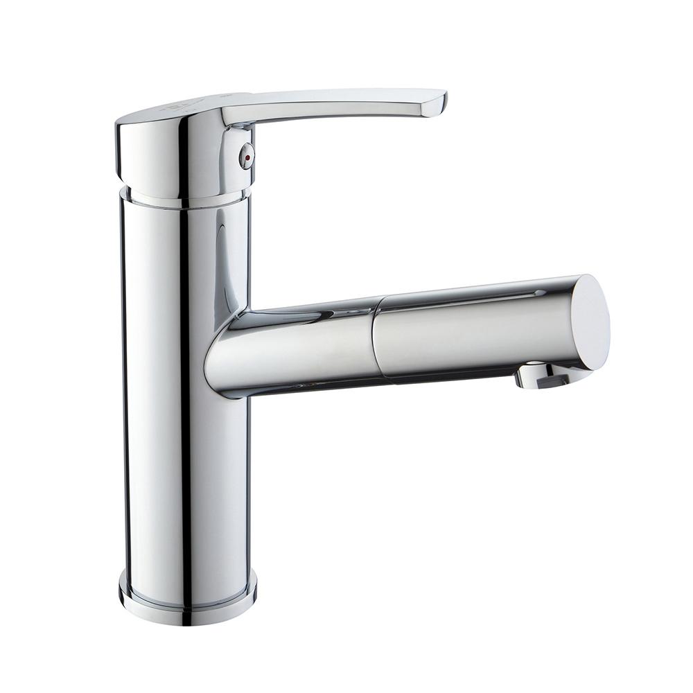 homelody wasserhahn bad waschtischarmatur mit ausziehbarem
