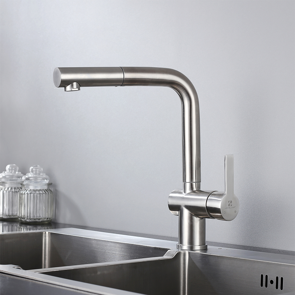 Rackaphile 360° Küchenarmatur Ausziehbare Küche Spültisch Armatur Wasserhahn
