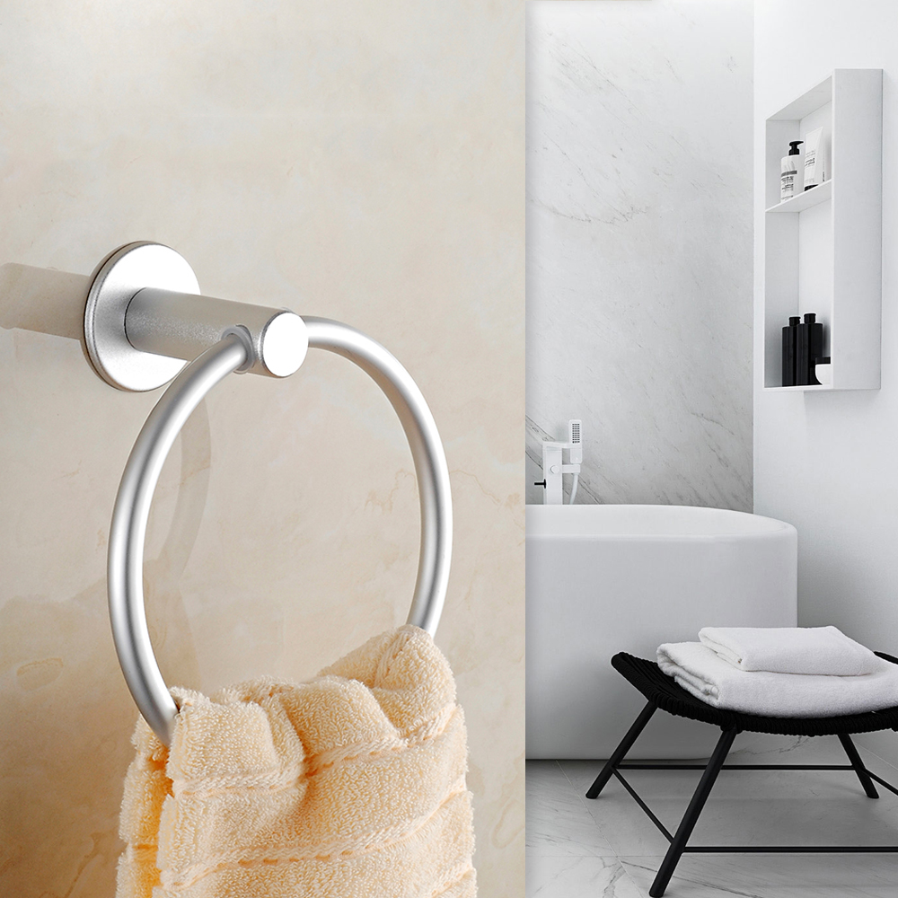 AiHom Handtuchhalterring Handtuchring Handtuchhalter ohne Bohren ...