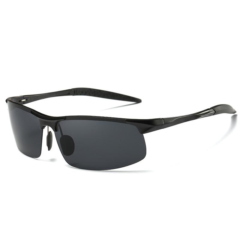 Aluminum Magnesium Alloy Frame Polarized Sunglasses Men/'s Driver Pilot Glasses