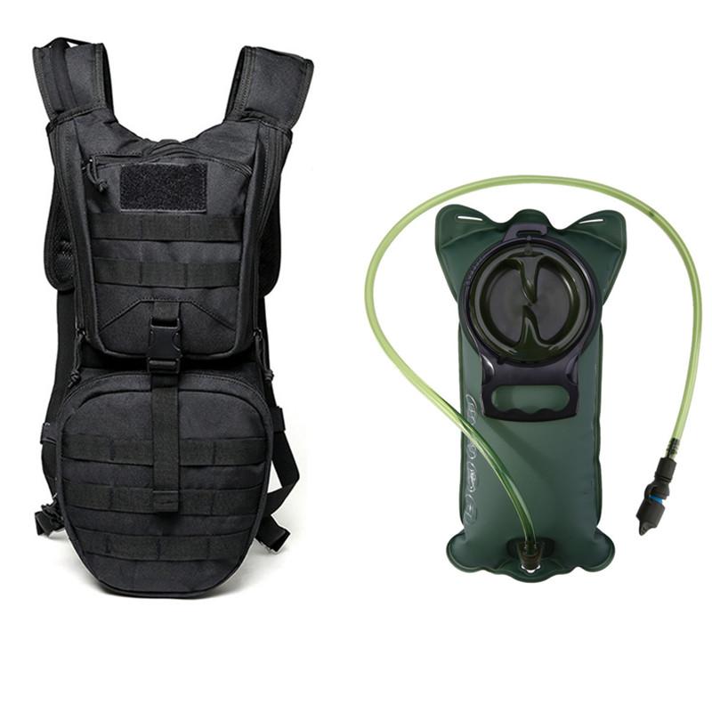 919eb7efb3 3L Hydration Backpack Bag Military Hiking Camping Back Pack No Water Bladder