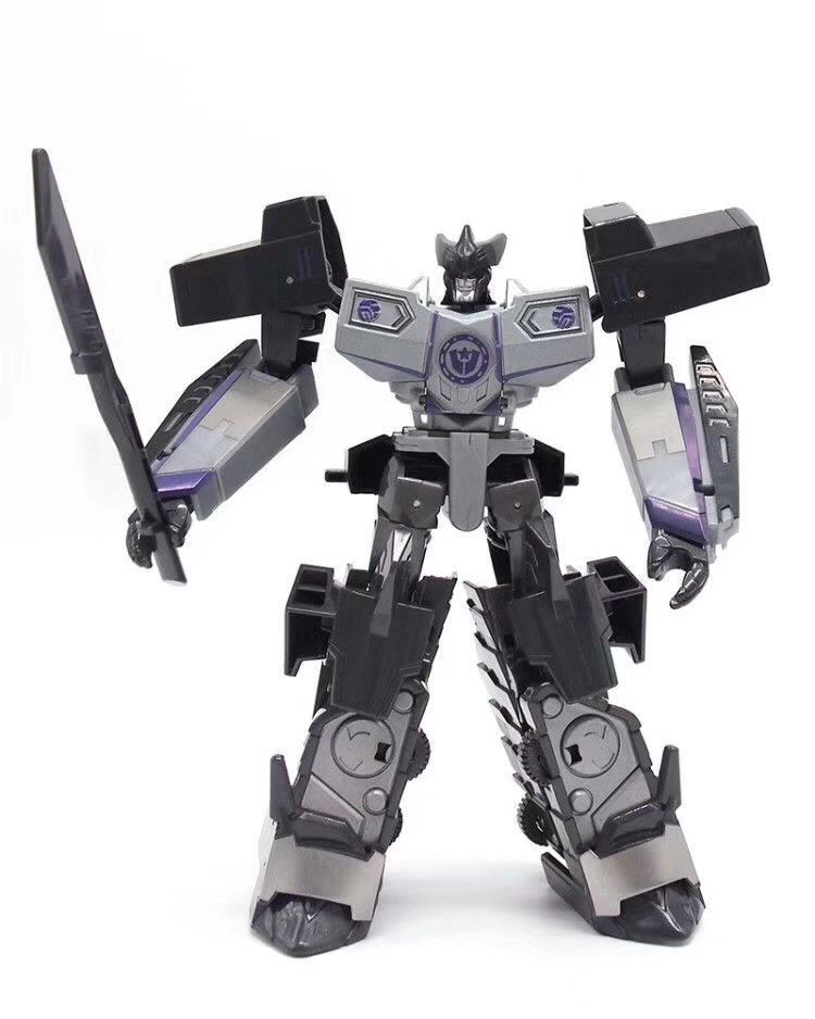 Transformation Metal Highbrow Seabrow Bat Fighter Robot Action Figure Toy