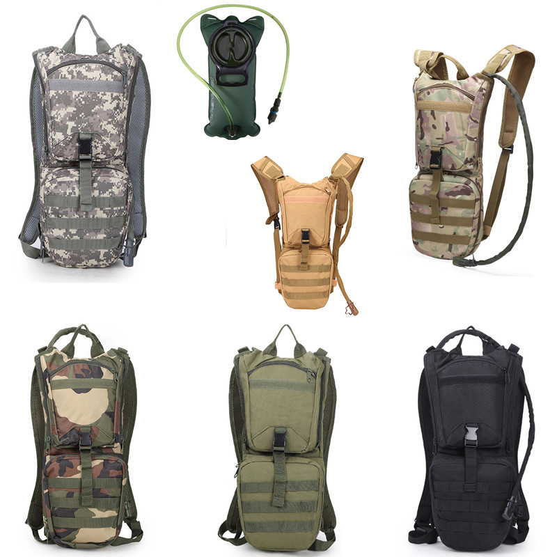 3L Hydration Backpack Military Tactical Pack Hunting Hiking Or Water Bag Bladder
