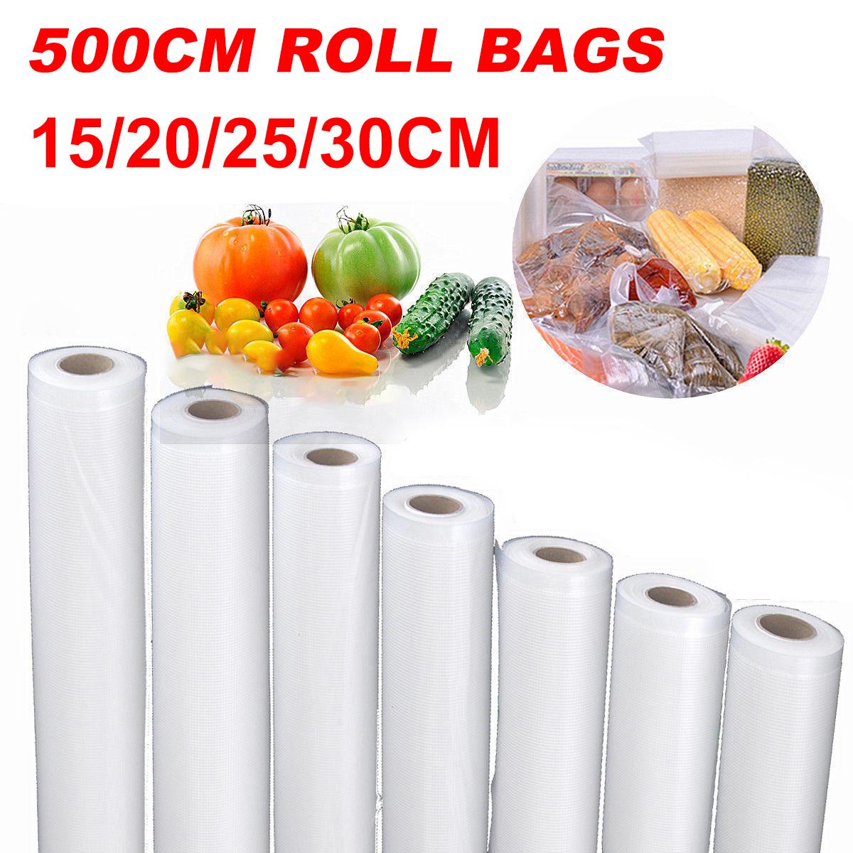 5M Roll Textured Vacuum Food Sealer Vac DIY Sealer Bags ...