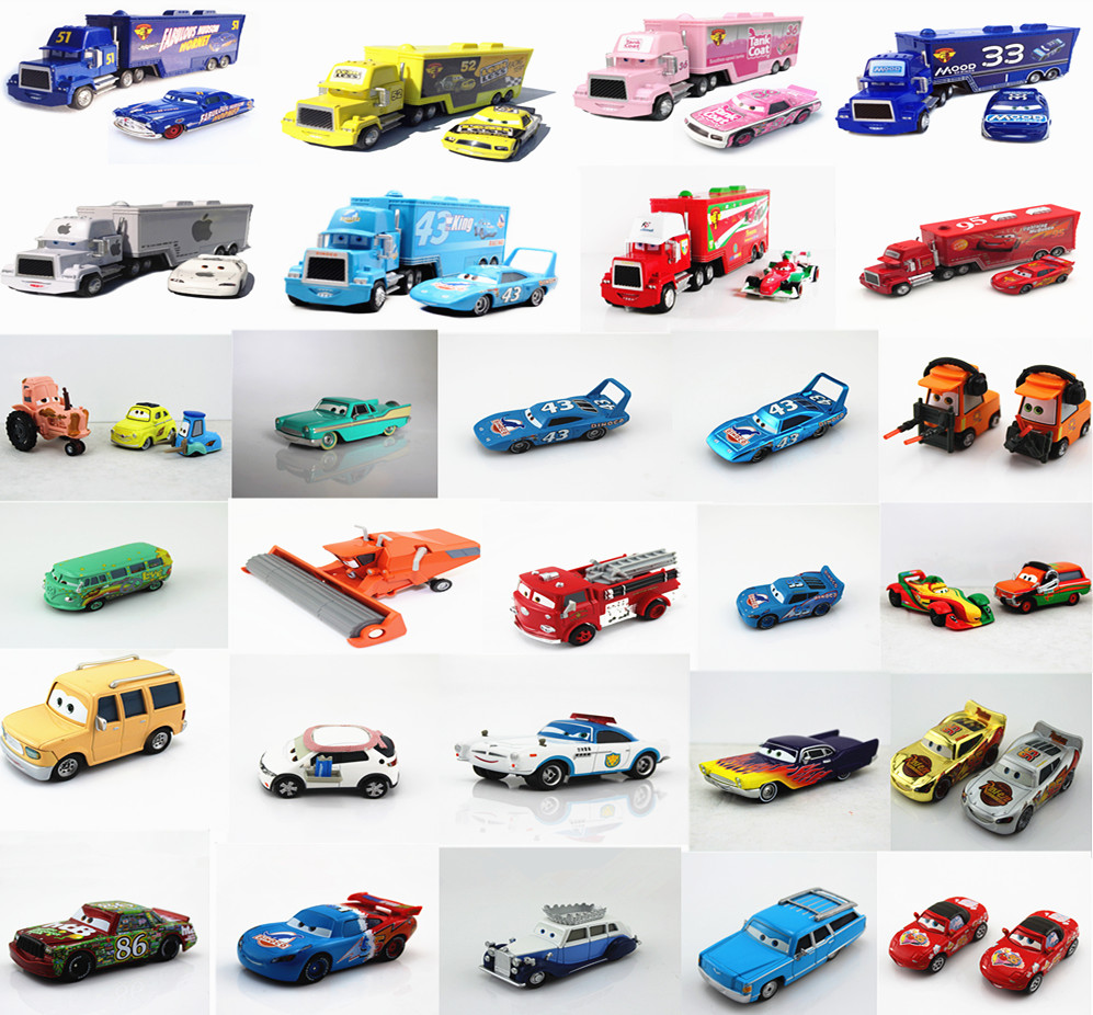 Cars 1 And 2 Toys : Disney pixar cars toy diecast number