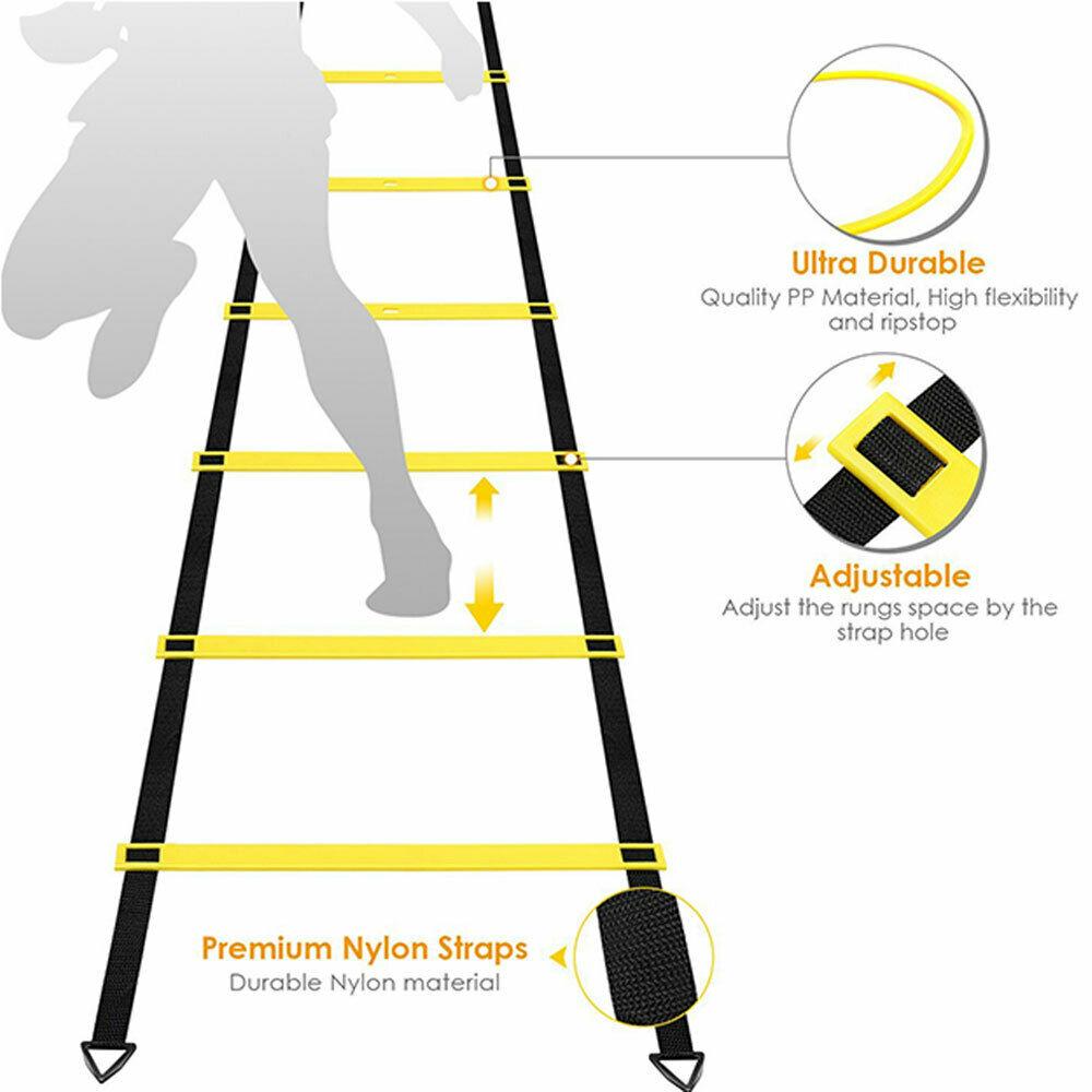 4M Speed Agility Ladder Fitness Training Ladder Soccer