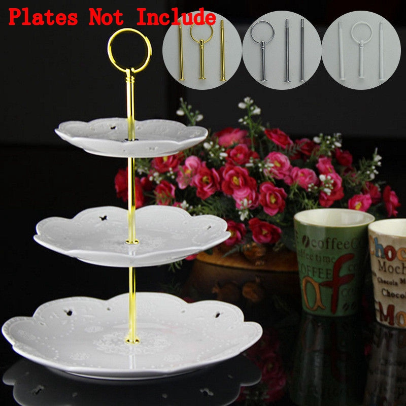 Details About Uk 3 Tier Cake Stand Afternoon Tea Wedding Plates Party Prom Banquet Stands