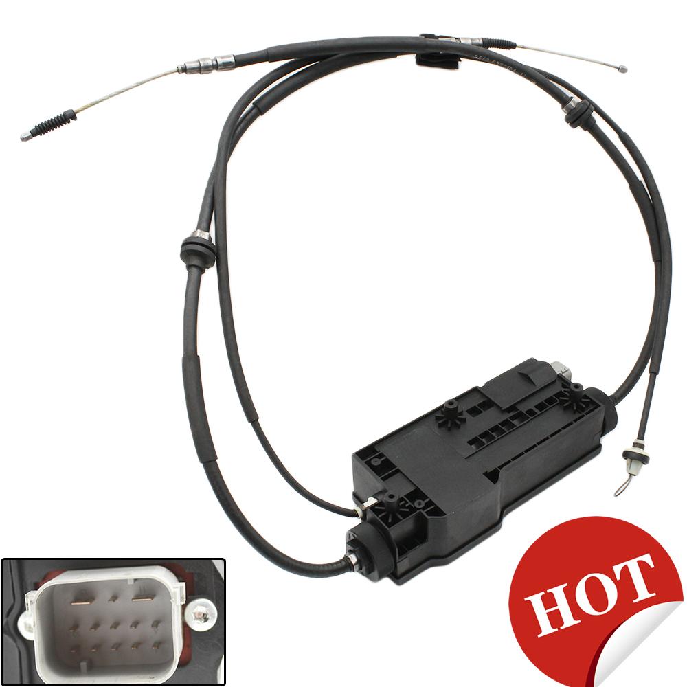 BMW X5 X6 E70 E71 Parking Brake Actuator Handbrake Plug Connector Wiring