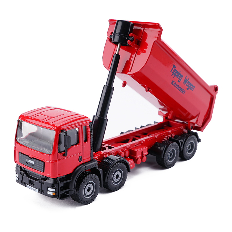 1 50 Scale Diecast Dump Trucks Metal Construction