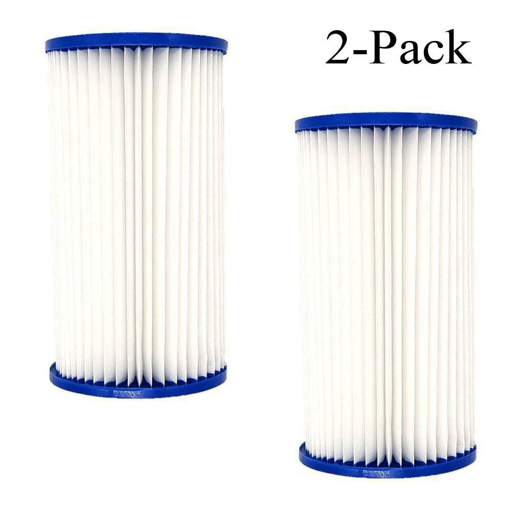 Summer Waves UNIVERSAL POOL FILTER CARTRIDGE REPLACEMENT TYPE A or C 2-PACK US