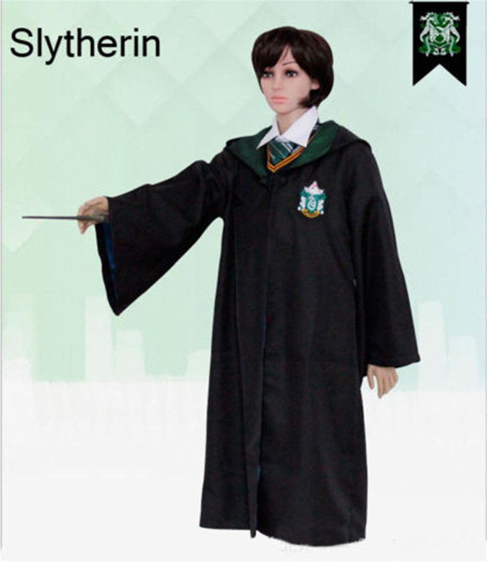 Harry Potter Adult Umhang Gryffindor / Slytherin Cosplay Umhang ...