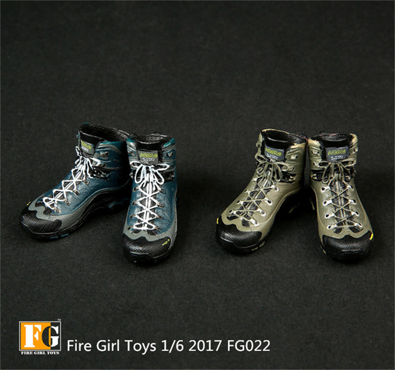 Fire Girl Toys 1//6 FG022 female military boots combat boots