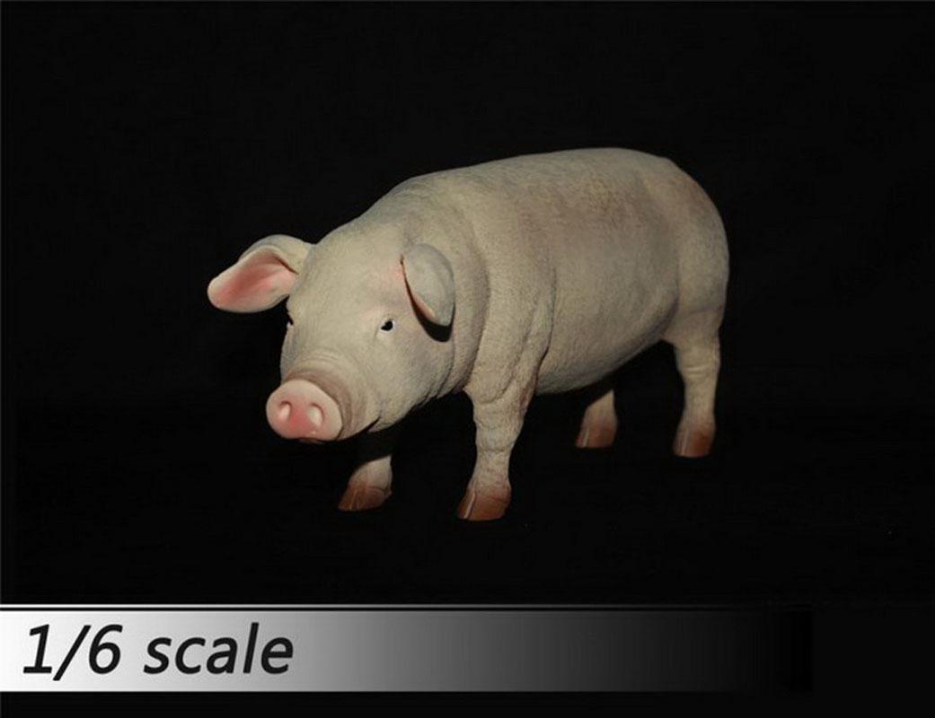 Model Black Pig Pet Animal Figure 1//6 Journey to the West Zhu Bajie Pig Ver