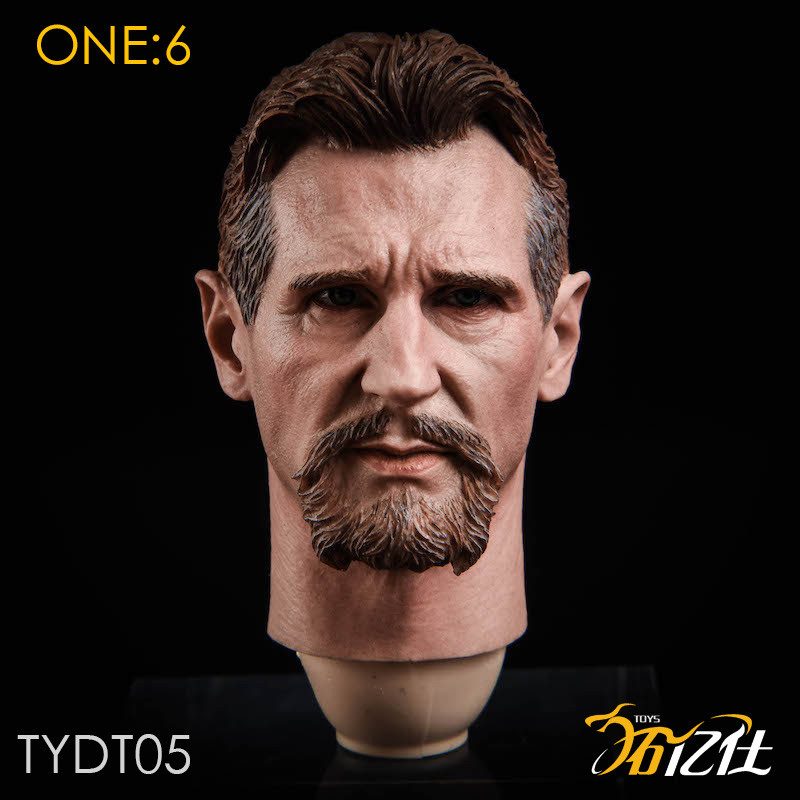 Hot TYDT05 Ra/'s al Ghul Liam Neeson 1//6 hot action figure toys man headplay