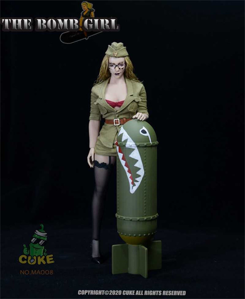 "CUKE TOYS 1//6 The Bomb Girl Clothes Model MA-008 Fit 12/"" Female PH Figure Body"