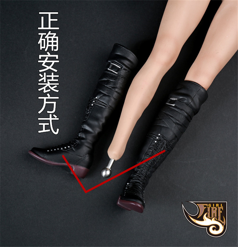 Fire Girl Toys 1//6 FG023 female gloves hand shape A B style 6 pcs in stock